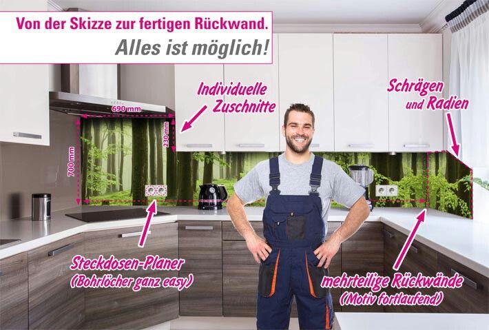 47 best küchenrückwand images on Pinterest | Kitchens, Glass and ...