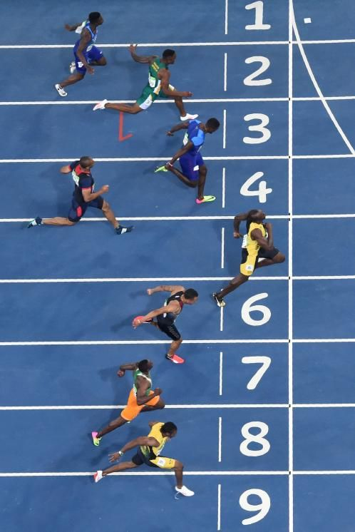 Bolt's legend was assured long before these Games