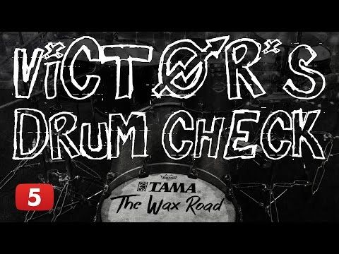 Victor's Drum Check ep. 5 (paradiddle-diddle) - YouTube