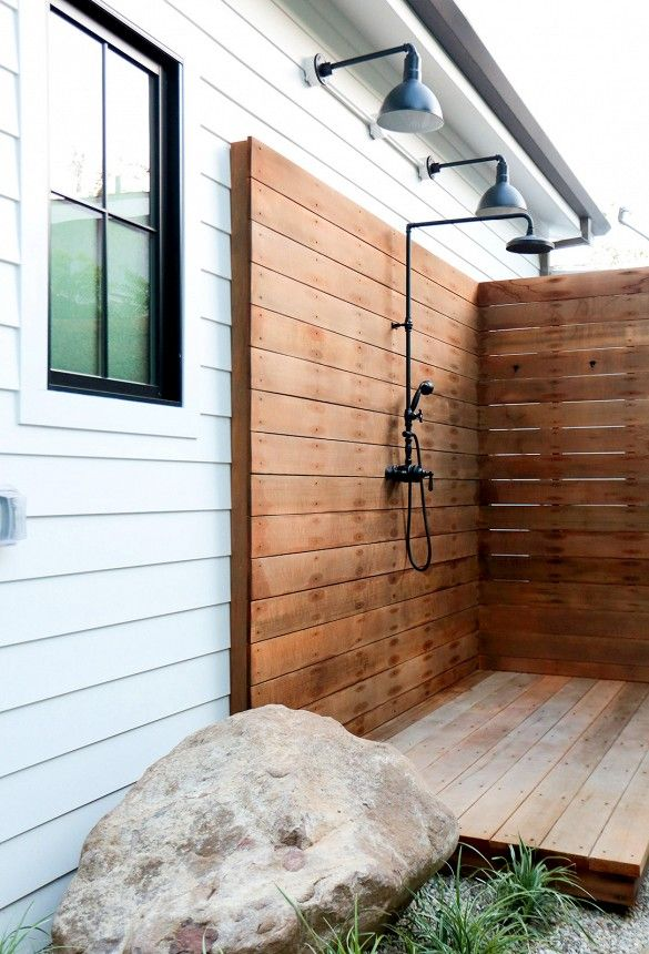 Best 25 Outdoor Showers Ideas On Pinterest Pool Shower