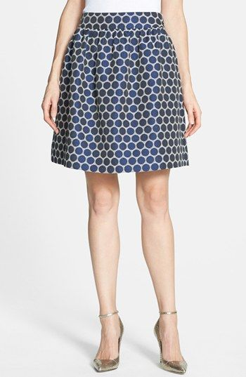 kate spade new york 'spade' woven skirt available at #Nordstrom