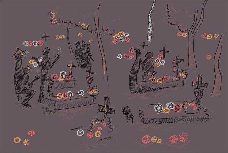 1 listopada 2013, Cmentarz Srebrzysko #wrzeszcz #gdansk