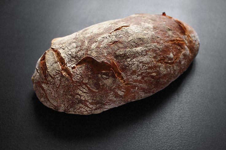 Chléb Šumava z kvasku,bez hnětení