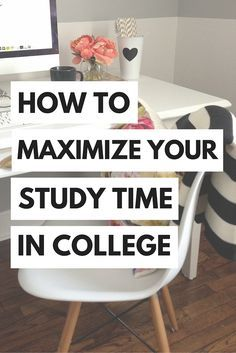 Making the most of your study time in college can be difficult, but don't worry…