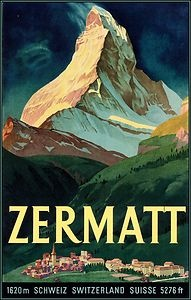 Zermatt Travel Posters And Poster On Pinterest