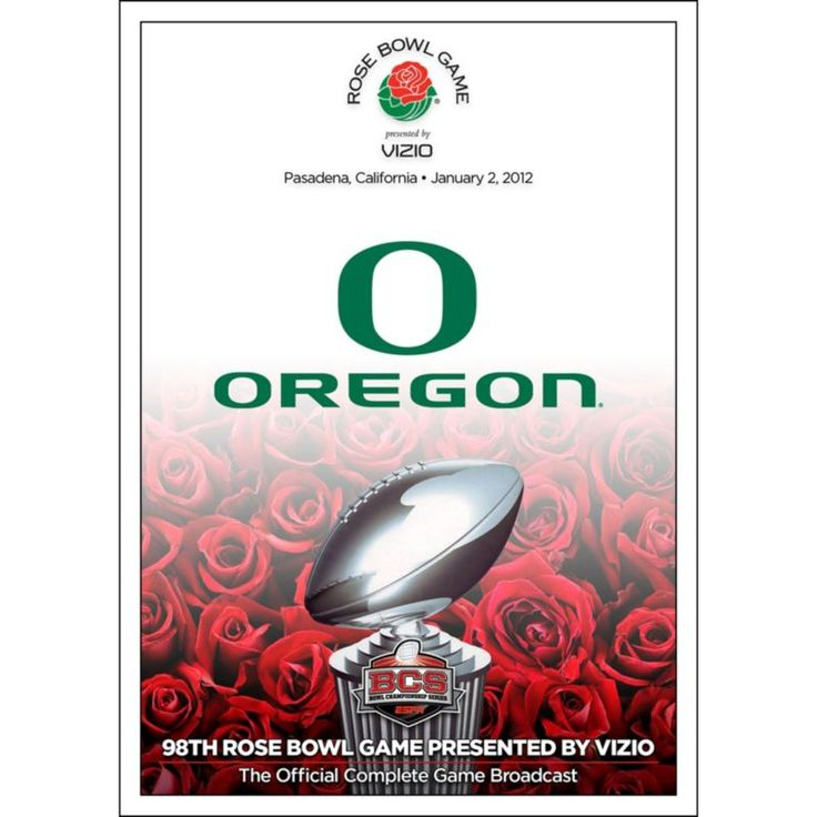 2012 Rose Bowl Game presented by Vizio - Wisconsin vs. Oregon DVD, Team