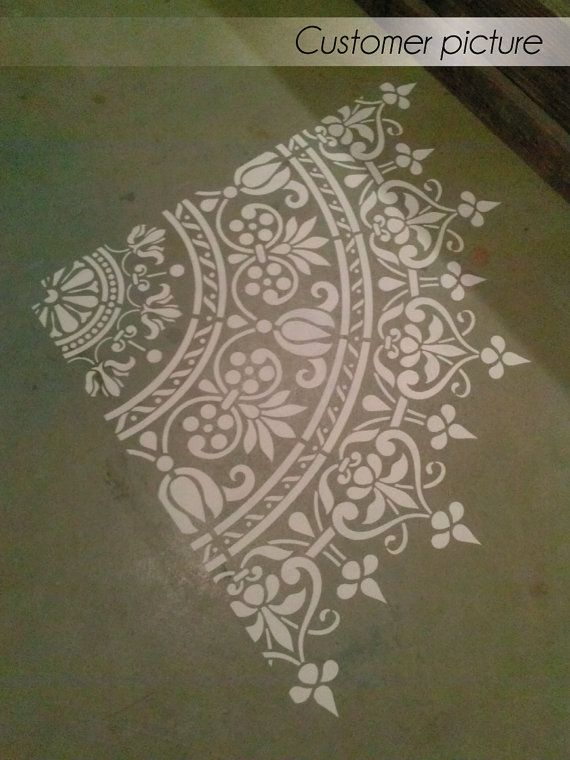 This easy to use wall stencil is a perfect solution for your decoration idea.   NOTE: This is a reusable stencil.  *Need a bigger size? Contact us for personal quote.*  Check out our border stencils that was made exclusively for this design:  https://www.etsy.com/listing/273172054/decorative-border-stencil-furniture  https://www.etsy.com/listing/273172270/furniture-decor-stencil-decorative   Check out our other mandalas stencils…