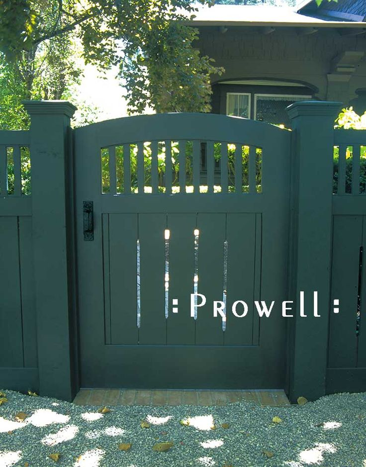 Prowell Woodworks' Original Garden Gate #7