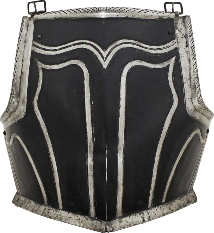 This heavy breastplate is from an armor which could have served on foot or horseback with interchangeable fauld and tassets. It is of exceptional size, custom made to fit a man of significant girth. A