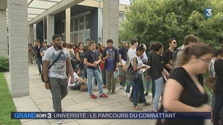 VIDEO. L'inscription à l'université, un parcours du combattant pour les élèves (France)