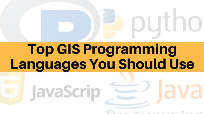 Top GIS Programming Languages You Should Use