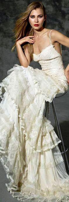 Estilo sureпїЅo vestido novia