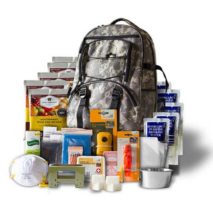 5 Day Survival Kit - Emergency Backpack - 1 Person