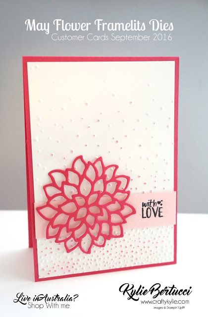 Stampin' Up! Australia: Kylie Bertucci Independent Demonstrator: World Card Making Day Blog Hop with Stampin' Up!® Products