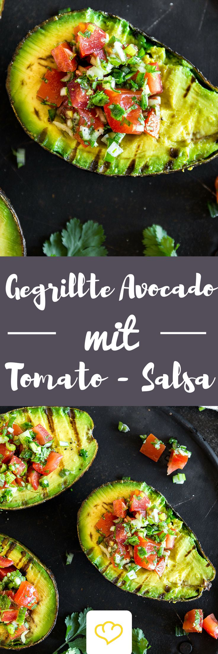 Du hast Avocado noch nicht gegrillt? Solltest du aber! Warm vom Grill und gefüllt mit einer fruchtig-scharfen Salsa kommst du mit dem Löffeln gar nicht mehr hinterher – so verdammt lecker ist die Avocado. Und so einfach zubereitet. Und so schnell gemacht. Und … .