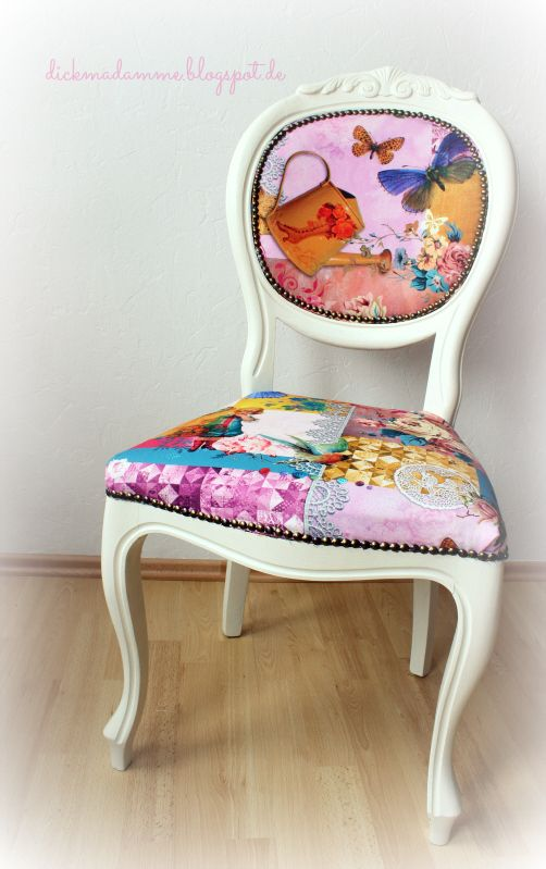 Chair upcycling