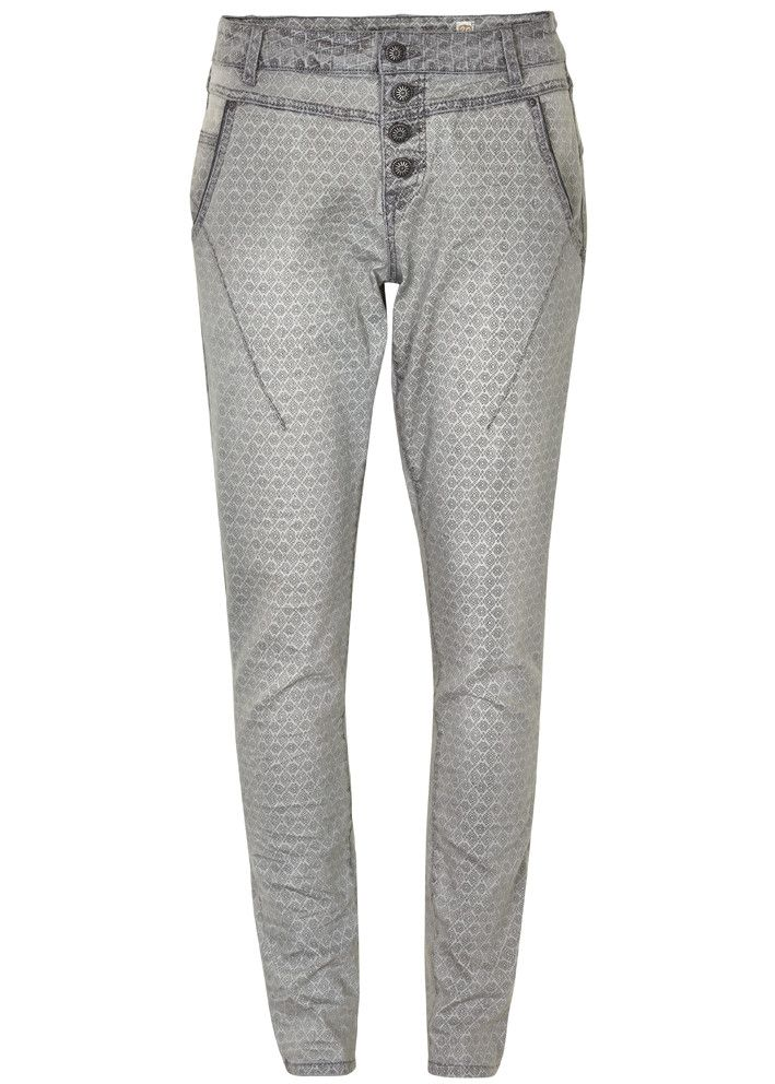 Cream Jeans grå mønstret 10601037 Baran Jeans Bailey Fit - drizzle grey – Acorns