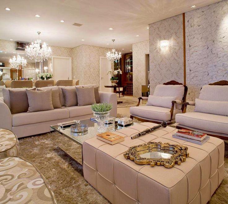 17 melhores ideias sobre apartamentos de luxo no pinterest for Salas de apartamentos modernos
