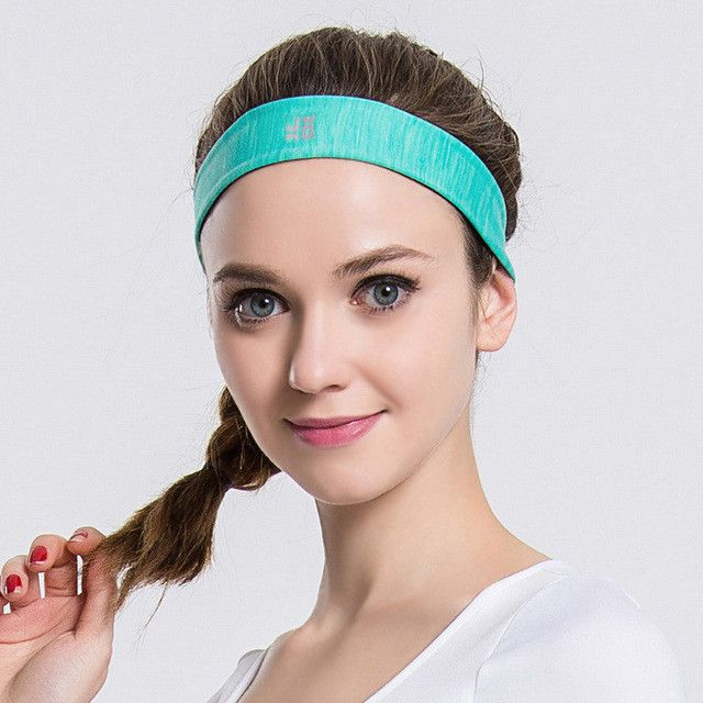 New Men Women Sweatband Quick Dry Hair Bands Sweat Absorbing Running Yoga Gym Stretch Head Band Sports Safety Sweat Headbands