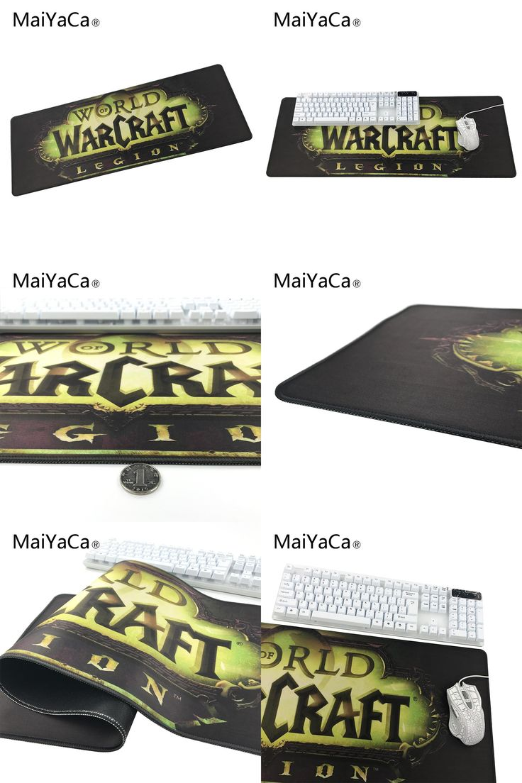 [Visit to Buy] MaiYaCa Original Design Computer Speed Mouse Pads World of Warcraft Legion Gaming Mouse Pad Rubber Gamer Soft Comfort Mouse Mat #Advertisement