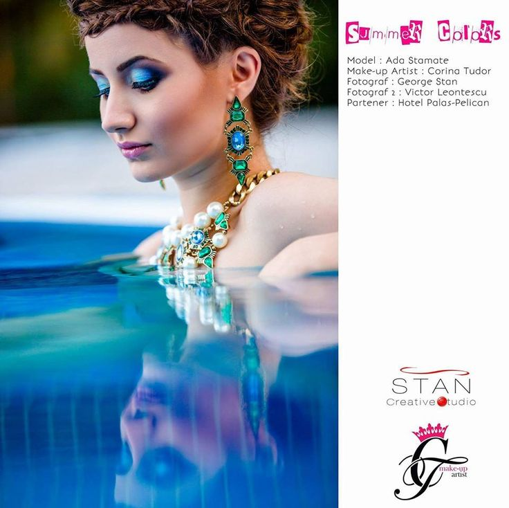 2015 Summer colors! Model: Ada Stamate MUA: Corina Tudor Hair: Andra Ancuta Photo: George Stan