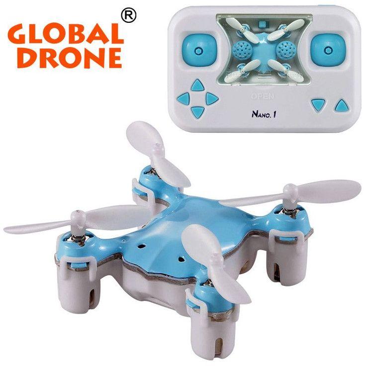 Nano 1 Mini Drone Rc Quadcopter Pocket Drones 24G Remote Control 45 CH