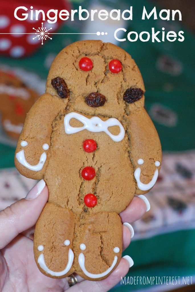 Old Fashioned Gingerbread Man.  This is an old recipe from Germany.  Not your rollout-cutout gingerbread!