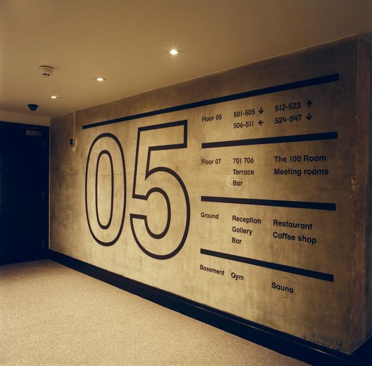 Ace Hotel corridor, London | Universal Design Studio