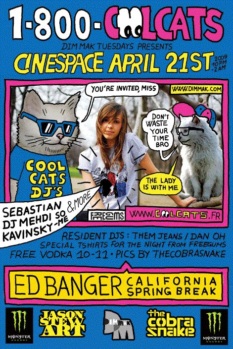 HEAVY ACCENTS: DIM MAK TUESDAYS @ Cinespace w/ Ed Banger Crew + ...