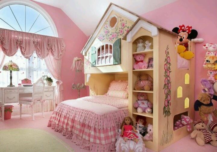 dormitorio de niña bbs