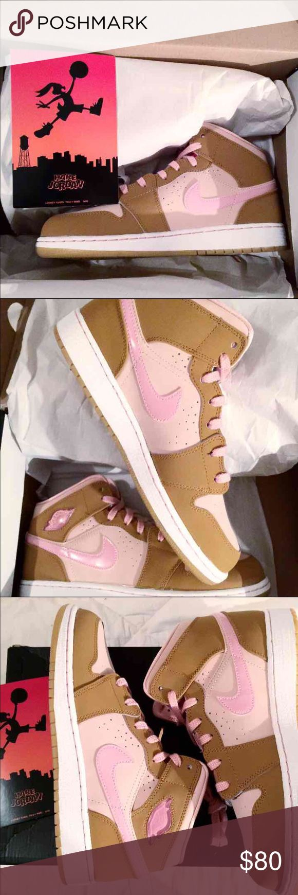 Nike Air Jordan Retro 1 Air Jordan Retro 1 Mid Lola Bunny Includes og box Never worn  CHECK OUT MY OTHER LISTINGS :) Nike Shoes Sneakers