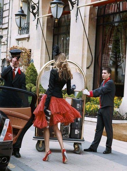 HOT SPOT: Hôtel Plaza Athénée, Paris