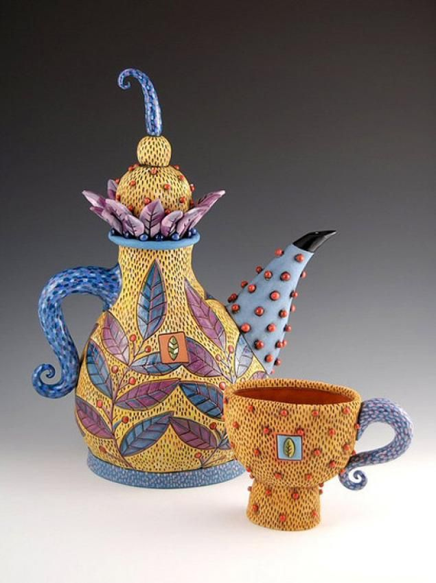 Handmade And Crafted Unique Teapots And Teasets By Natalya