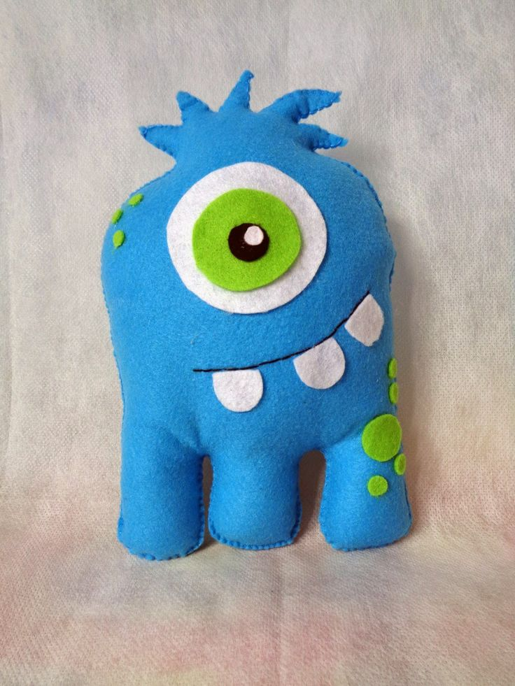 Best 25 Felt Monster Ideas On Pinterest Mini Monster