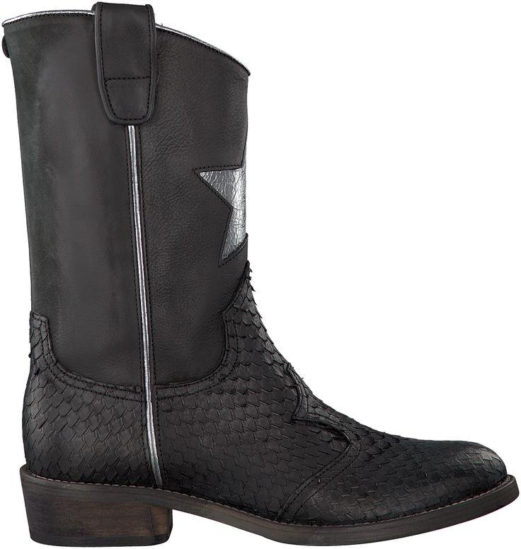 Zwarte+Hip+Korte+laarzen+H1545