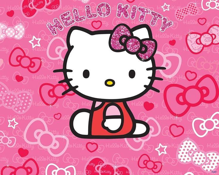 Наш Mural младенца Дешевые Одежда Hello Kitty Комната