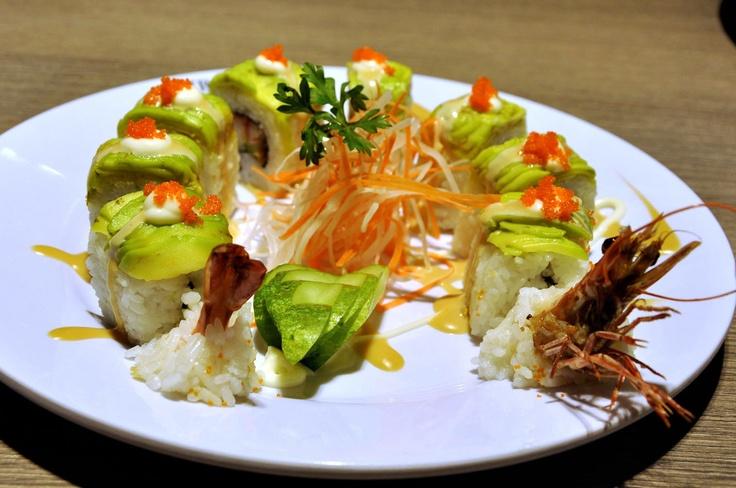 Dragon Age Roll Sushi at Teppanyaki