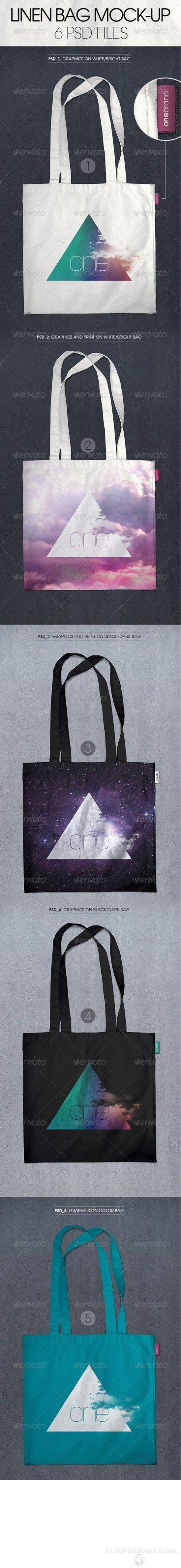 Linen Bag Mock-up 5837206 » Graphicriver free . Free Download Psd Source , Tutorials , Vectors , Stock