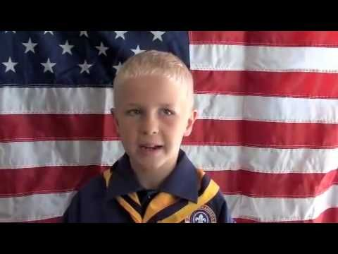 """fun video demonstrating the """"right"""" and the """"wrong"""" way to do a proper flag ceremony  I LOVE this, I've shown it to my Bears for several years when doing Ach. #3.  They love it too and always want to watch it again."""