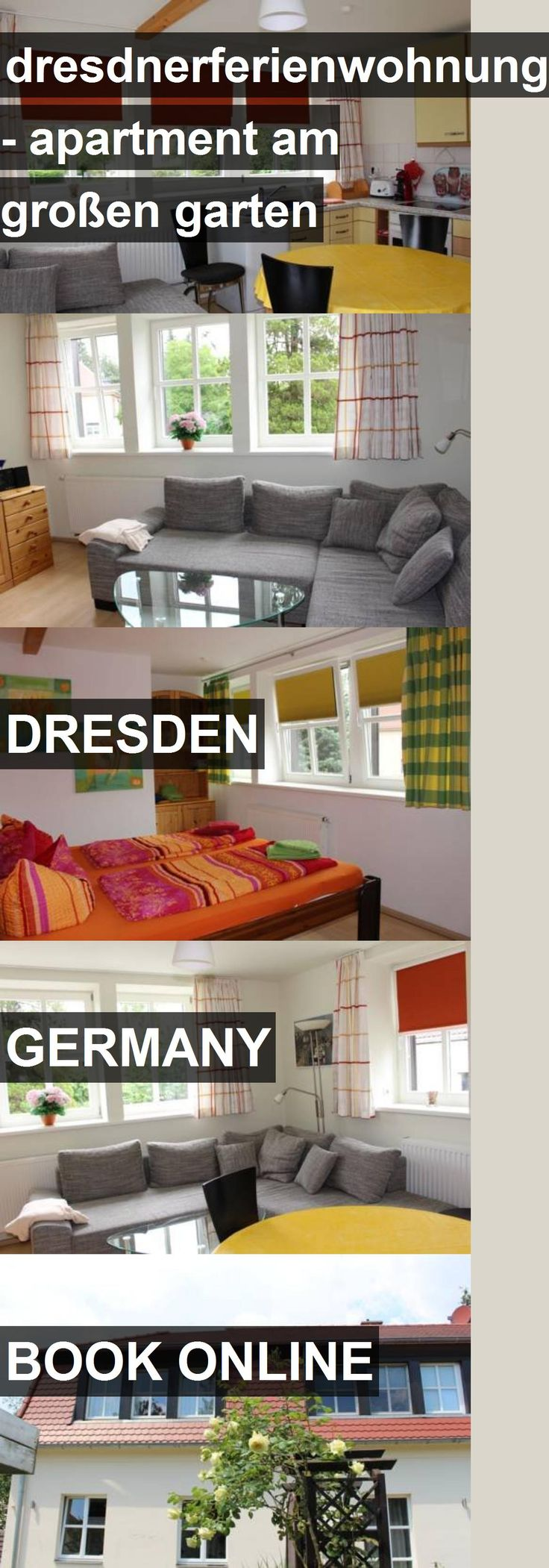dresdnerferienwohnung - apartment am großen garten in Dresden, Germany. For more information, photos, reviews and best prices please follow the link. #Germany #Dresden #travel #vacation #apartment