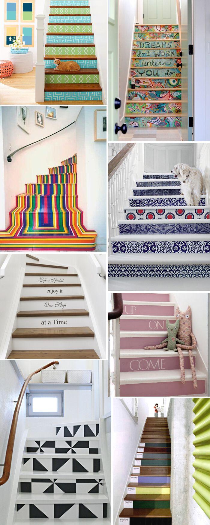 escadas decoradas blog fashionite                                                                                                                                                                                 Mais