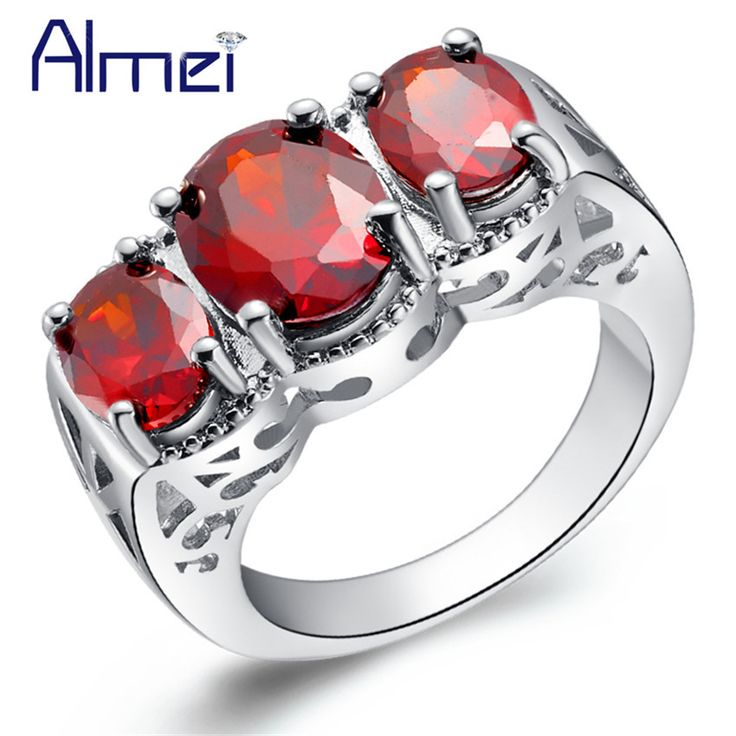 Find More Rings Information about Cubic Zirconia Band Ring for Women Engagement Rings Vintage Ruby Jewelry Brand Accessories Silver Plated Anel De Feminino J396,High Quality ring watch,China ring pen Suppliers, Cheap ring resin from Almei Jewelry Store on Aliexpress.com