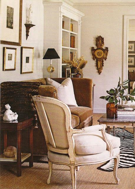 Best A Perfect Gray November 2012 Brown Sofa Light Walls 400 x 300