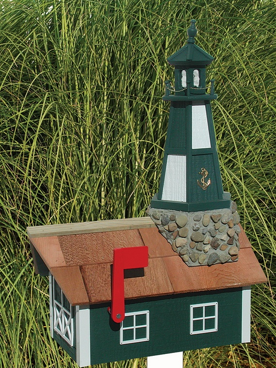 Free Lighthouse Mailbox Plans Woodworking Projects Amp Plans