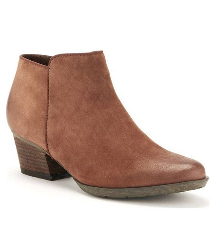 Brown Waterproof Bootie | Buy these waterproof shoes for stormy days—but they're so comfy, you may end up wearing them no matter the weather.