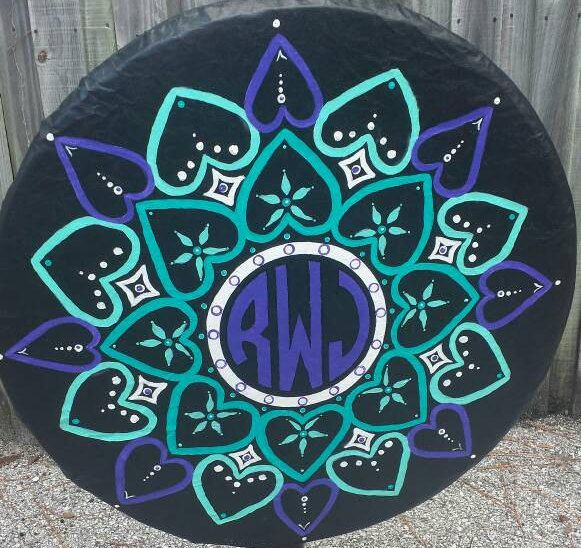 Awesome tire covers, mandalas, made to order! monogrammed, make a statement, gift for mom, jeep accessories, jeep wrangler