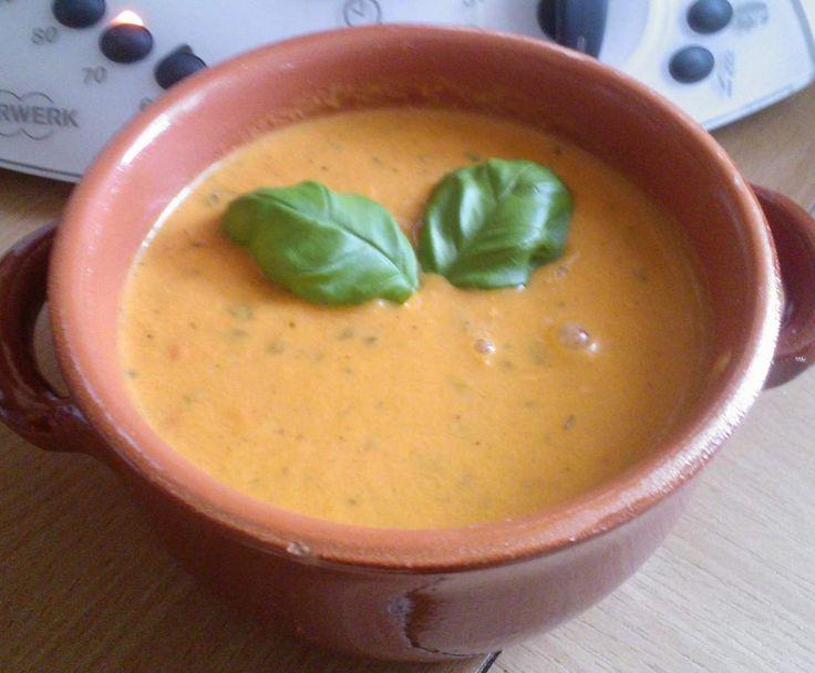 Rezept Tomatensuppe aus frischen Tomaten von Ostara7000 - Rezept der Kategorie Suppen