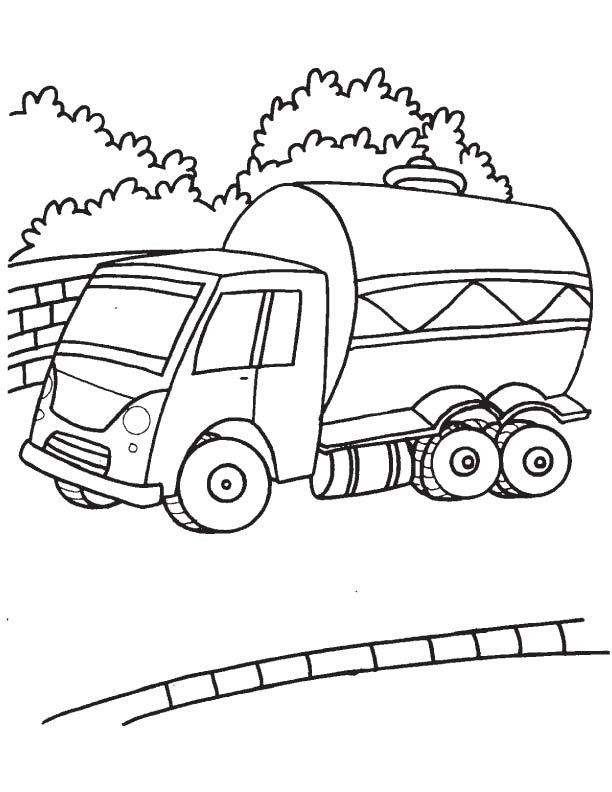 Semi Truck Coloring Pages Tank Truck Coloring Page Halloween Coloring Pages Free Printable Coloring Pages Bible Coloring Pages