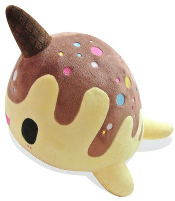 Tasty Peach Studios — Nomwhal Choco-Nana Plush