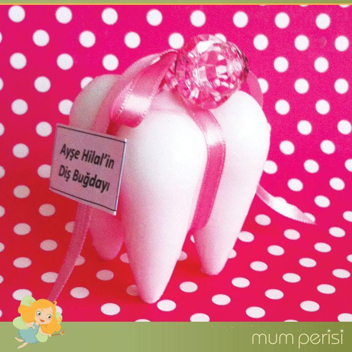 Diş Şeklinde Tasarlanan Mumları Diş Buğdayı Partinizde Hediye Edebilirisiniz